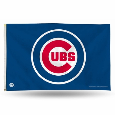 Chicago Cubs 3 x 5 Flag