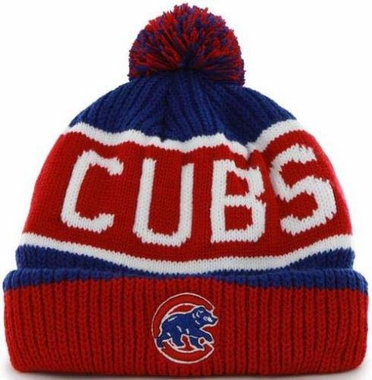 "Chicago Cubs 47 Brand MLB ""Calgary"" Cuffed Knit Hat"