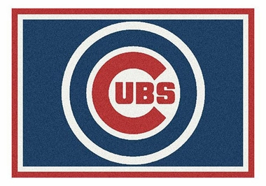 "Chicago Cubs 5'4"" x 7'8"" Premium Spirit Rug"