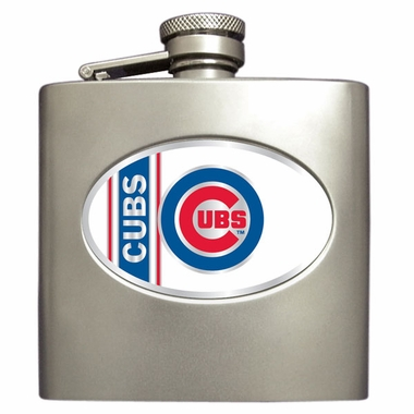 Chicago Cubs 6 oz. Hip Flask
