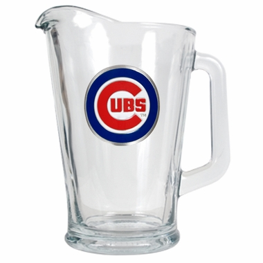 Chicago Cubs 60 oz Glass Pitcher