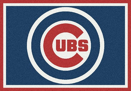 "Chicago Cubs 7'8"" x 10'9"" Premium Spirit Rug"