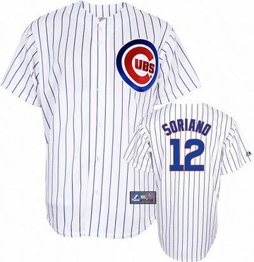 Chicago Cubs Alfonso Soriano YOUTH Replica Player Jersey
