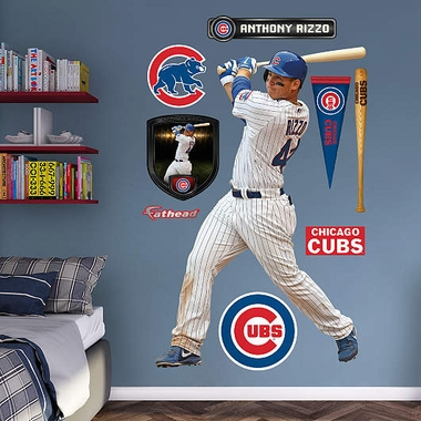 Chicago Cubs Anthony Rizzo Fathead Wall Graphic