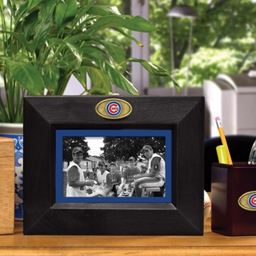 Chicago Cubs BLACK Landscape Picture Frame