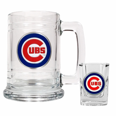 Chicago Cubs Boilermaker Set