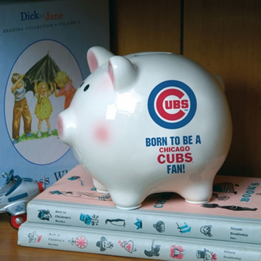 Chicago Cubs (Born to Be) Piggy Bank