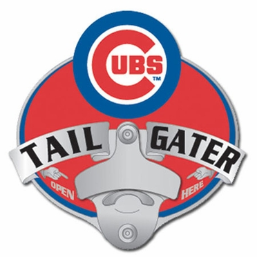 Chicago Cubs Bottle Opener Hitch Cover