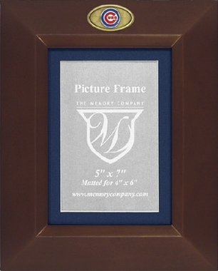 Chicago Cubs BROWN Portrait Picture Frame
