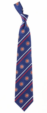 Chicago Cubs Cambridge Woven Silk Necktie