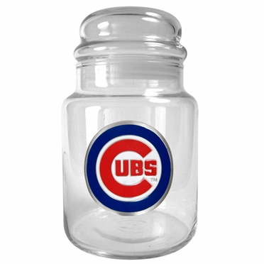 Chicago Cubs Candy Jar