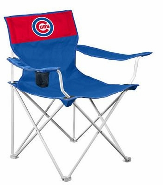 Chicago Cubs Canvas Adult Folding Logo Chair