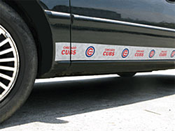 Chicago Cubs Car Trim Magnets