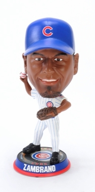 Chicago Cubs Carlos Zambrano 2009 Big Head Bobble