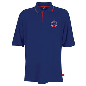 Chicago Cubs Coaches Choice Polo Shirt - Medium