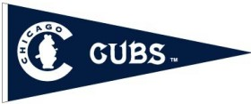 Chicago Cubs Cooperstown Wool Pennant