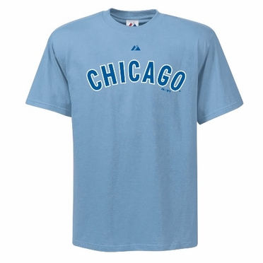 Chicago Cubs Cooperstown Wordmark T-Shirt