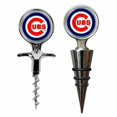 Chicago Cubs Corkscrew and Stopper Gift Set