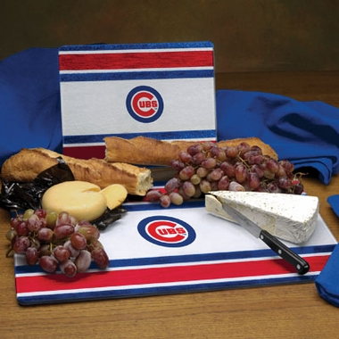 Chicago Cubs Cutting Board Set