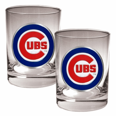 Chicago Cubs Double Rocks Set