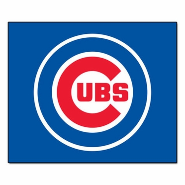 Chicago Cubs Economy 5 Foot x 6 Foot Mat