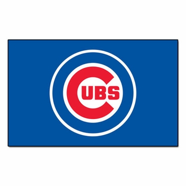 Chicago Cubs Economy 5 Foot x 8 Foot Mat