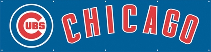 Chicago Cubs Eight Foot Banner