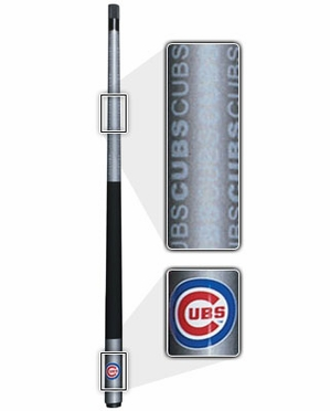 Chicago Cubs Eliminator Pool Cue
