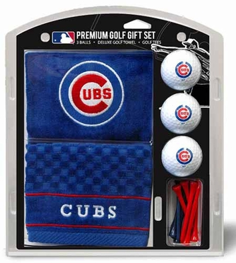 Chicago Cubs Embroidered Towel Gift Set