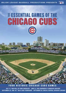 Chicago Cubs Essential Games DVD