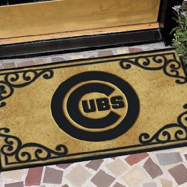 Chicago Cubs Exterior Door Mat