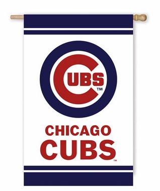 Chicago Cubs Fiber Optic Flag