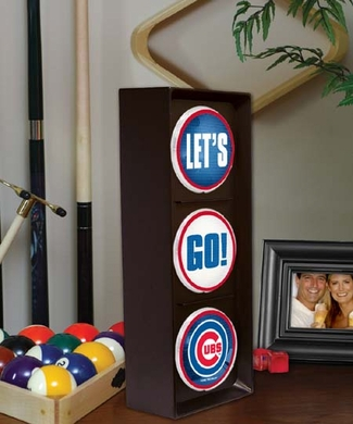 Chicago Cubs Flashing Stop Light