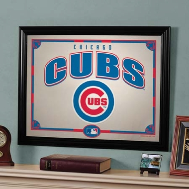 Chicago Cubs Framed Mirror