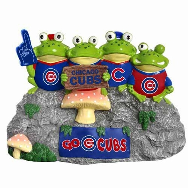 Chicago Cubs Frog Fan Bench