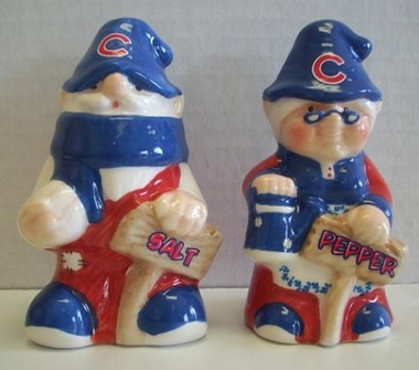 Chicago Cubs Gnome Salt & Pepper Shakers