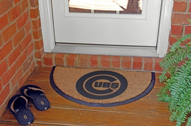 Chicago Cubs Half Moon Door Mat