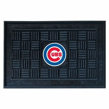 Chicago Cubs Heavy Duty Vinyl Doormat