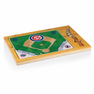 Chicago Cubs Icon 3 Piece Cheese Set
