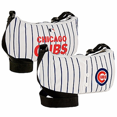 Chicago Cubs Jersey Material Purse