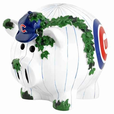 Chicago Cubs Large Thematic Piggy Bank