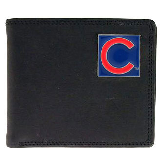 Chicago Cubs Leather Bifold Wallet (F)
