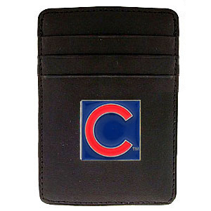 Chicago Cubs Leather Money Clip (F)