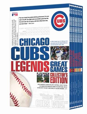 Chicago Cubs Legends - Great Games Collector's Edition DVD