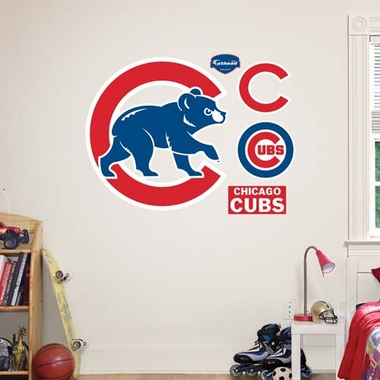 Chicago Cubs Logo Fathead Wall Graphic