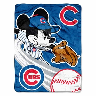 Chicago Cubs Microfiber Lightweight Blanket