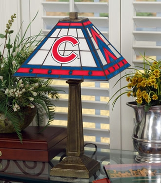 Chicago Cubs Mission Lamp