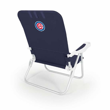 Chicago Cubs Monaco Beach Chair (Navy)