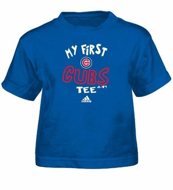 Chicago Cubs My First Tee Infant Shirt
