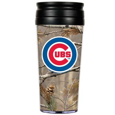 Chicago Cubs Open Field Acrylic Travel Tumbler